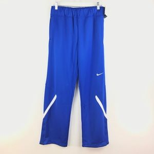 Nike Women's Team Enforcer Warm Up Pant Blue NEW